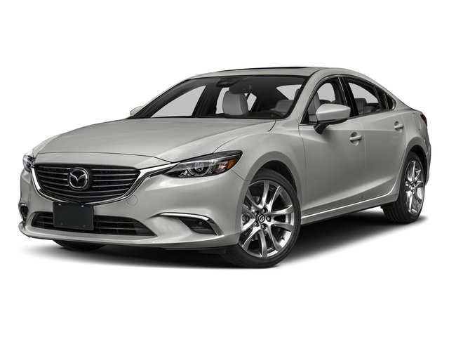 Sonic Silver Metallic 2017 Mazda Mazda6 Pictures Mazda6 Sedan 4D GT Premium I4 photos front view