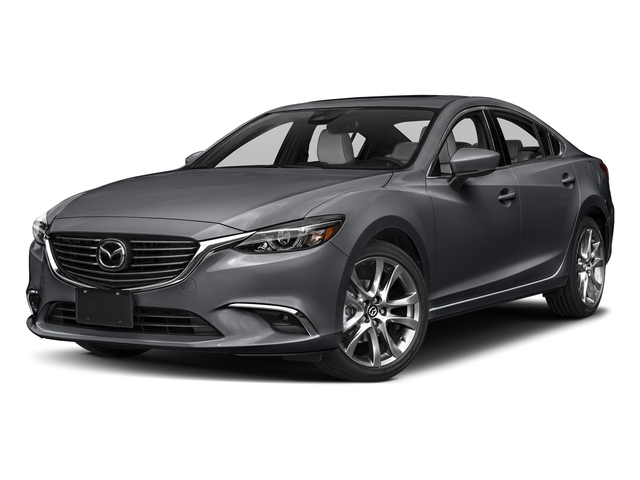 Machine Gray Metallic 2017 Mazda Mazda6 Pictures Mazda6 Sedan 4D GT Premium I4 photos front view