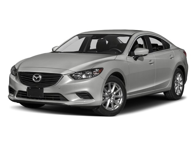 Sonic Silver Metallic 2017 Mazda Mazda6 Pictures Mazda6 Sedan 4D Sport I4 photos front view
