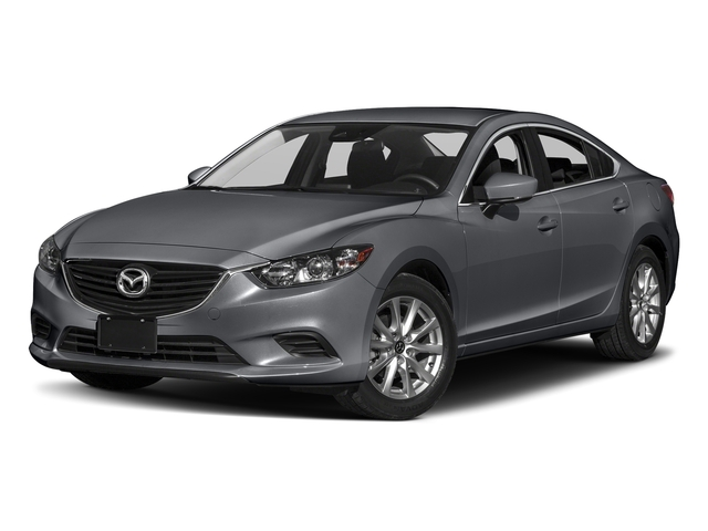 Machine Gray Metallic 2017 Mazda Mazda6 Pictures Mazda6 Sedan 4D Sport I4 photos front view