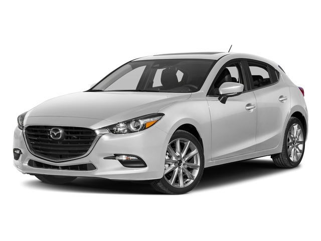 Snowflake White Pearl Mica 2017 Mazda Mazda3 5-Door Pictures Mazda3 5-Door Touring 2.5 Auto photos front view
