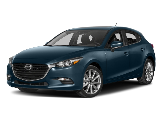 Deep Crystal Blue Mica 2017 Mazda Mazda3 5-Door Pictures Mazda3 5-Door Wagon 5D Touring 2.5L I4 photos front view