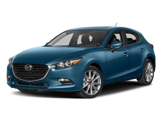 Eternal Blue Mica 2017 Mazda Mazda3 5-Door Pictures Mazda3 5-Door Wagon 5D Touring 2.5L I4 photos front view