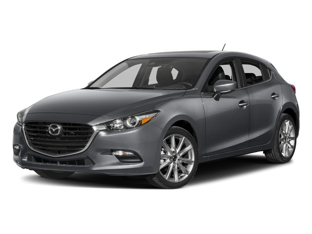 Machine Gray Metallic 2017 Mazda Mazda3 5-Door Pictures Mazda3 5-Door Wagon 5D Touring 2.5L I4 photos front view
