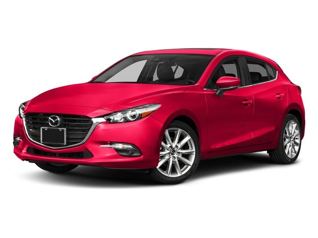 Soul Red Metallic 2017 Mazda Mazda3 5-Door Pictures Mazda3 5-Door Grand Touring Manual photos front view