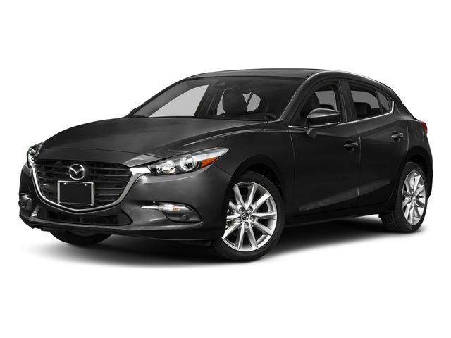 Jet Black Mica 2017 Mazda Mazda3 5-Door Pictures Mazda3 5-Door Grand Touring Manual photos front view