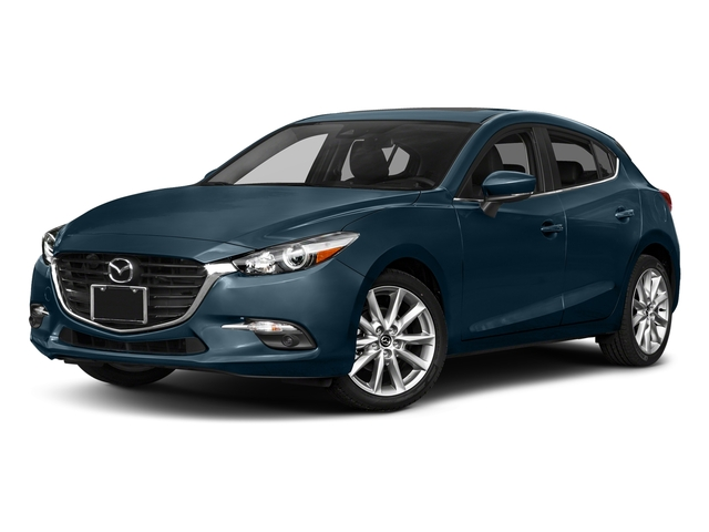 Deep Crystal Blue Mica 2017 Mazda Mazda3 5-Door Pictures Mazda3 5-Door Grand Touring Manual photos front view