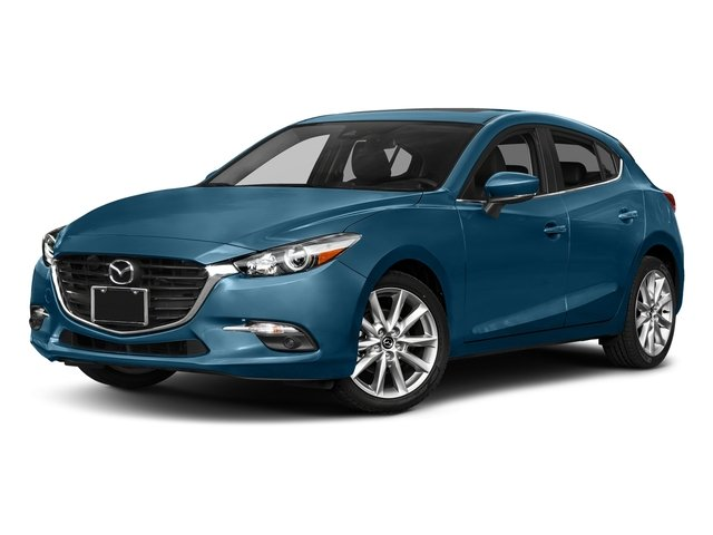 Eternal Blue Mica 2017 Mazda Mazda3 5-Door Pictures Mazda3 5-Door Grand Touring Manual photos front view