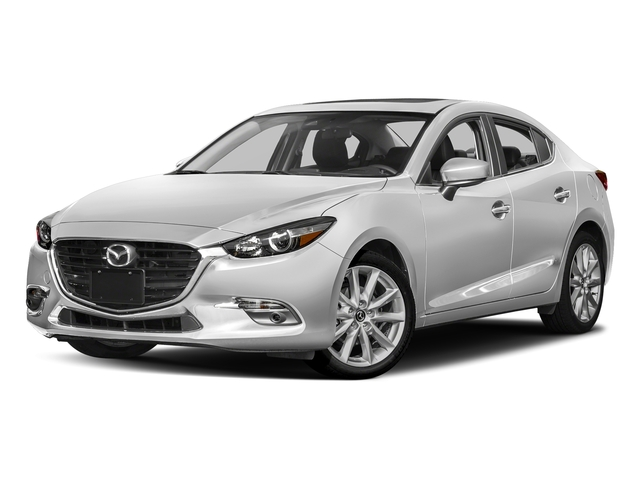 Snowflake White Pearl Mica 2017 Mazda Mazda3 4-Door Pictures Mazda3 4-Door Sedan 4D Grand Touring photos front view