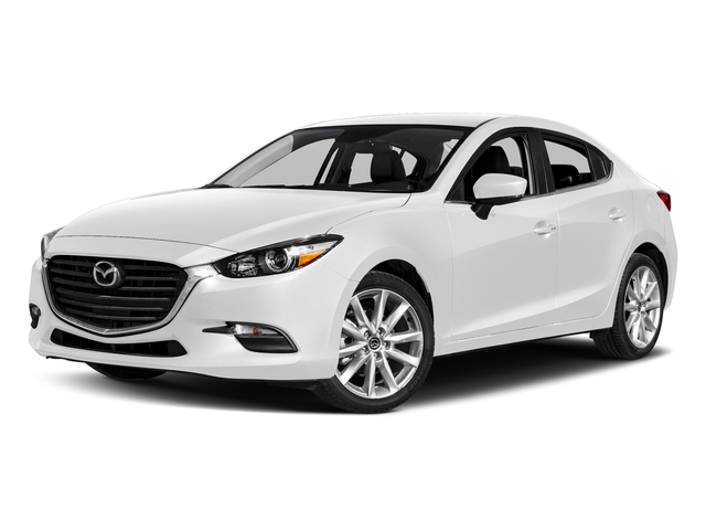 Snowflake White Pearl Mica 2017 Mazda Mazda3 4-Door Pictures Mazda3 4-Door Touring Manual photos front view