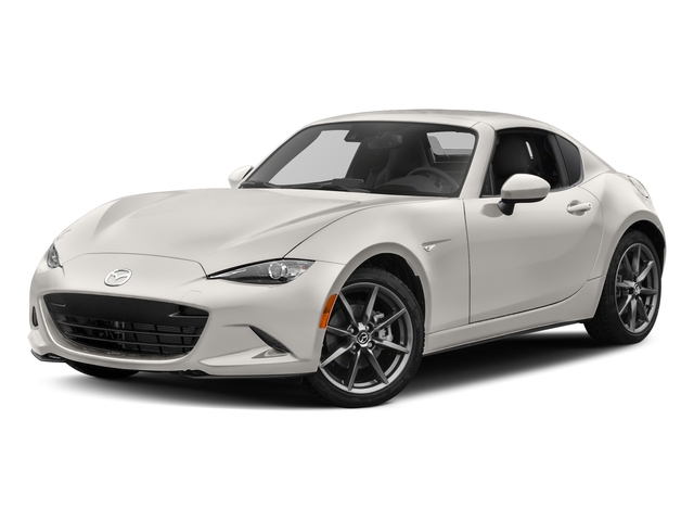 Crystal White Pearl 2017 Mazda MX-5 Miata RF Pictures MX-5 Miata RF Grand Touring Manual photos front view