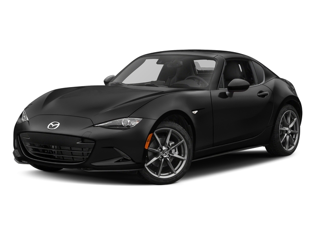 Jet Black Mica 2017 Mazda MX-5 Miata RF Pictures MX-5 Miata RF Grand Touring Manual photos front view