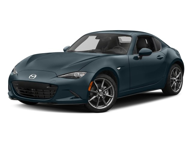 Blue Reflex Mica 2017 Mazda MX-5 Miata RF Pictures MX-5 Miata RF Grand Touring Manual photos front view