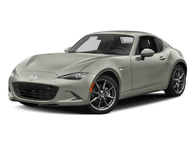 Ceramic Metallic 2017 Mazda MX-5 Miata RF Pictures MX-5 Miata RF Grand Touring Manual photos front view