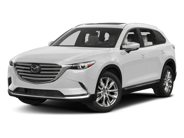Snowflake White Pearl Mica 2017 Mazda CX-9 Pictures CX-9 Grand Touring AWD photos front view