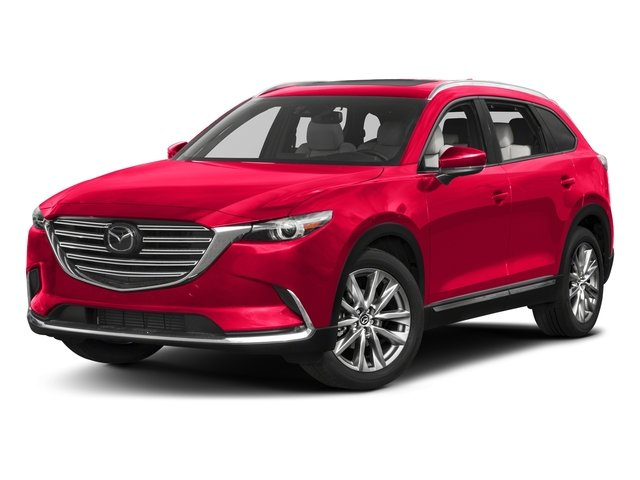 Soul Red Metallic 2017 Mazda CX-9 Pictures CX-9 Grand Touring AWD photos front view