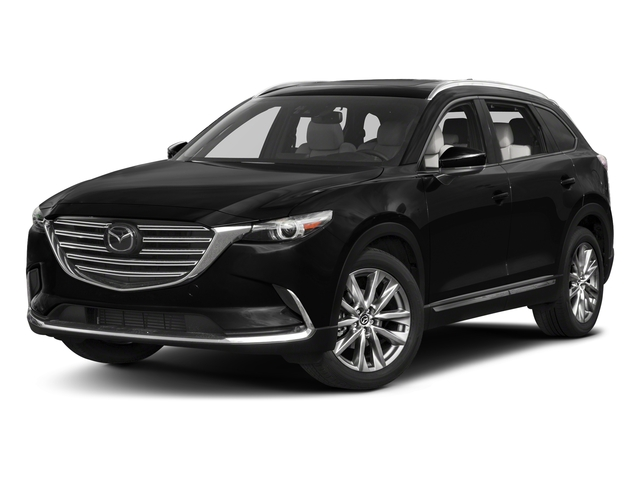 Jet Black Mica 2017 Mazda CX-9 Pictures CX-9 Grand Touring AWD photos front view