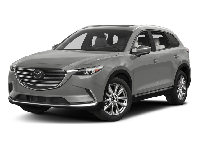 Sonic Silver Metallic 2017 Mazda CX-9 Pictures CX-9 Grand Touring AWD photos front view