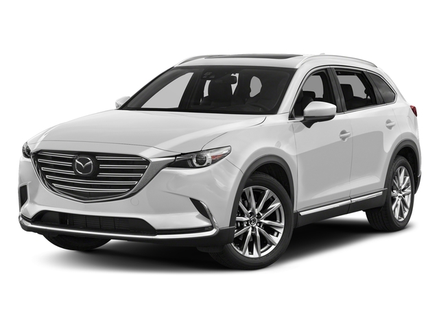Snowflake White Pearl Mica 2017 Mazda CX-9 Pictures CX-9 Utility 4D Signature AWD I4 photos front view