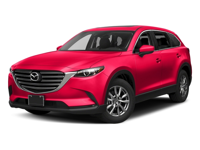 Soul Red Metallic 2017 Mazda CX-9 Pictures CX-9 Utility 4D Touring 2WD I4 photos front view