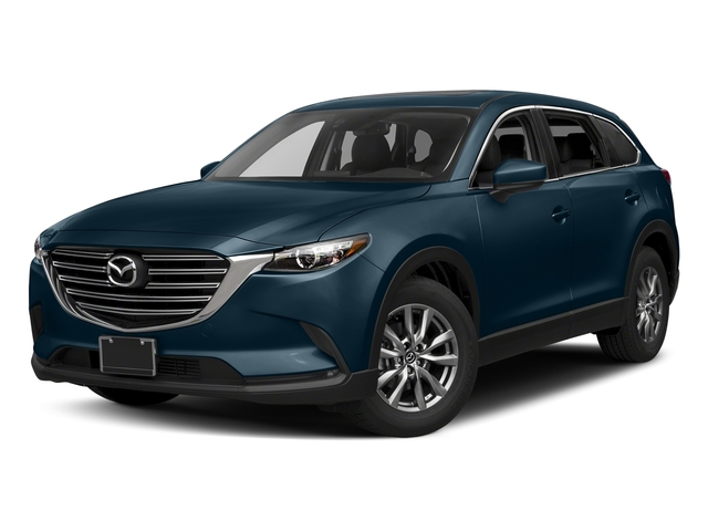 Deep Crystal Blue Mica 2017 Mazda CX-9 Pictures CX-9 Utility 4D Touring 2WD I4 photos front view