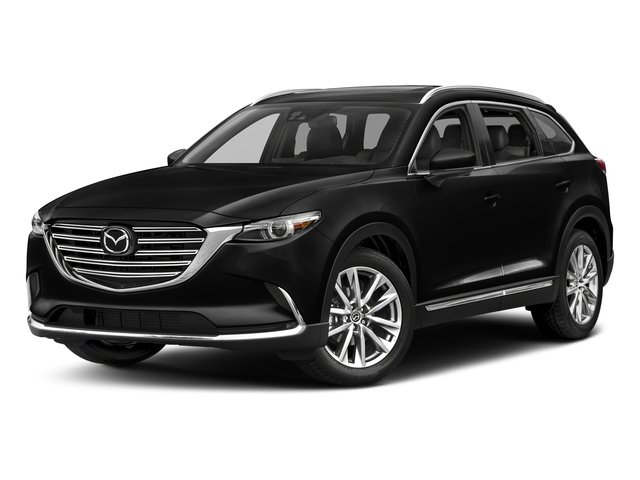 Jet Black Mica 2017 Mazda CX-9 Pictures CX-9 Utility 4D GT 2WD I4 photos front view