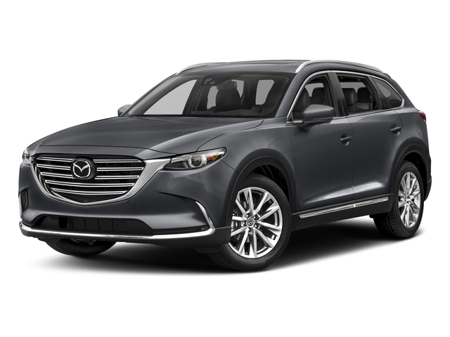 Machine Gray Metallic 2017 Mazda CX-9 Pictures CX-9 Utility 4D GT 2WD I4 photos front view