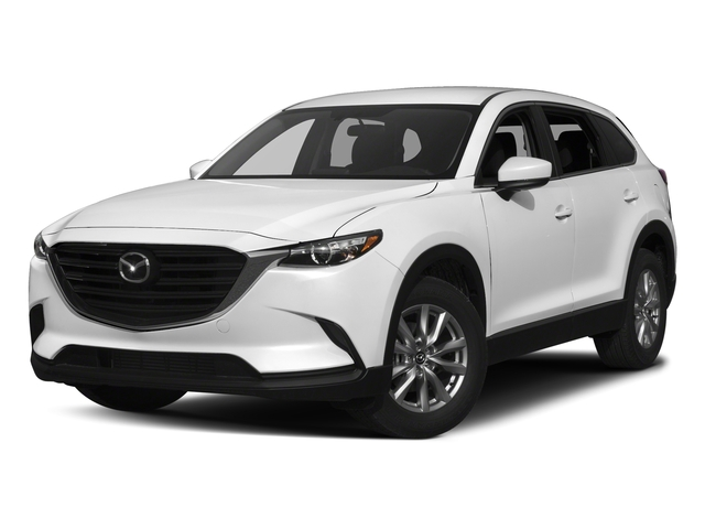 Snowflake White Pearl Mica 2017 Mazda CX-9 Pictures CX-9 Sport AWD photos front view