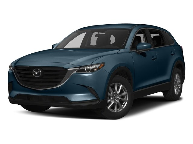 Deep Crystal Blue Mica 2017 Mazda CX-9 Pictures CX-9 Utility 4D Sport AWD I4 photos front view
