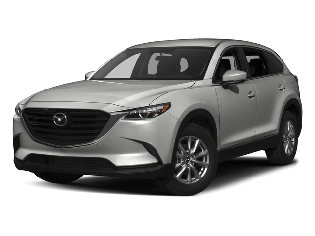 Sonic Silver Metallic 2017 Mazda CX-9 Pictures CX-9 Utility 4D Sport AWD I4 photos front view