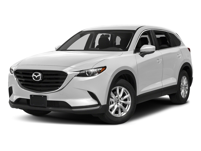 Snowflake White Pearl Mica 2017 Mazda CX-9 Pictures CX-9 Sport FWD photos front view