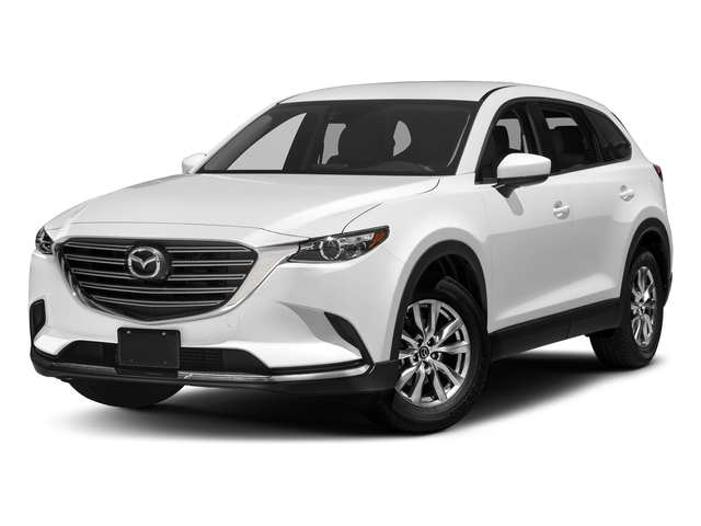 Snowflake White Pearl Mica 2017 Mazda CX-9 Pictures CX-9 Touring AWD photos front view