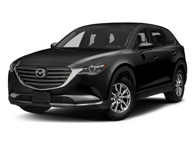 Jet Black Mica 2017 Mazda CX-9 Pictures CX-9 Touring AWD photos front view