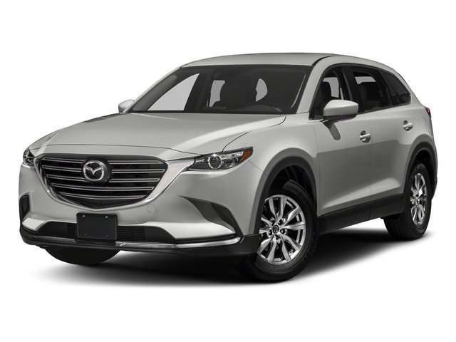 Sonic Silver Metallic 2017 Mazda CX-9 Pictures CX-9 Touring AWD photos front view