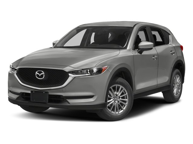 Sonic Silver Metallic 2017 Mazda CX-5 Pictures CX-5 Utility 4D Sport 2WD I4 photos front view