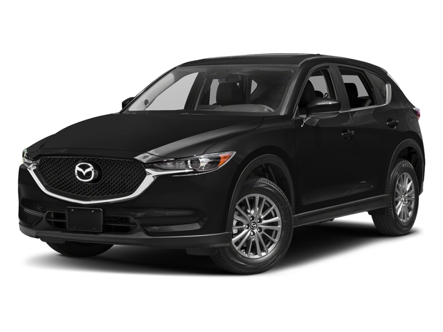 Jet Black Mica 2017 Mazda CX-5 Pictures CX-5 Utility 4D Touring 2WD I4 photos front view