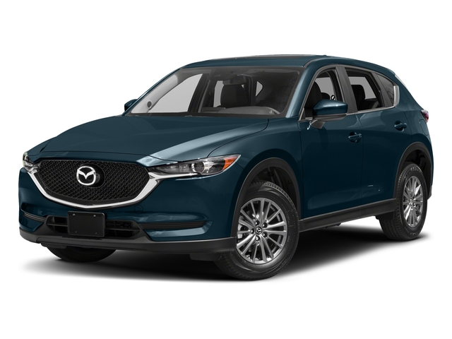 Deep Crystal Blue Mica 2017 Mazda CX-5 Pictures CX-5 Utility 4D Touring 2WD I4 photos front view