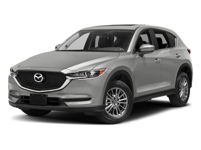 Sonic Silver Metallic 2017 Mazda CX-5 Pictures CX-5 Utility 4D Touring 2WD I4 photos front view