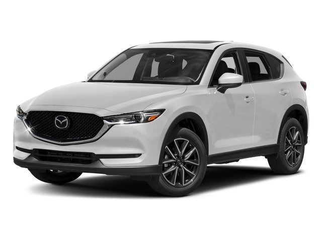 Snowflake White Pearl Mica 2017 Mazda CX-5 Pictures CX-5 Grand Touring AWD photos front view