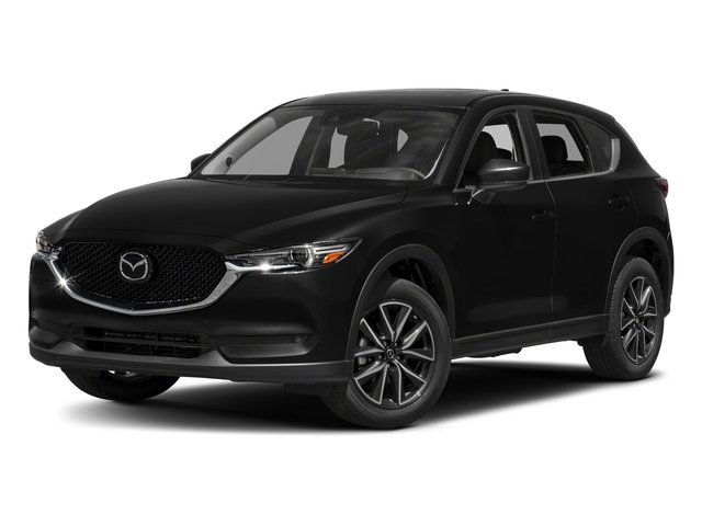 Jet Black Mica 2017 Mazda CX-5 Pictures CX-5 Grand Touring AWD photos front view
