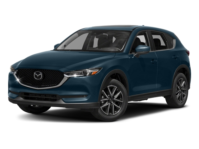 Deep Crystal Blue Mica 2017 Mazda CX-5 Pictures CX-5 Grand Touring AWD photos front view