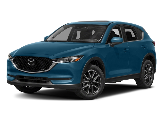 Eternal Blue Mica 2017 Mazda CX-5 Pictures CX-5 Grand Touring AWD photos front view