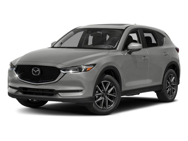 Sonic Silver Metallic 2017 Mazda CX-5 Pictures CX-5 Grand Touring AWD photos front view