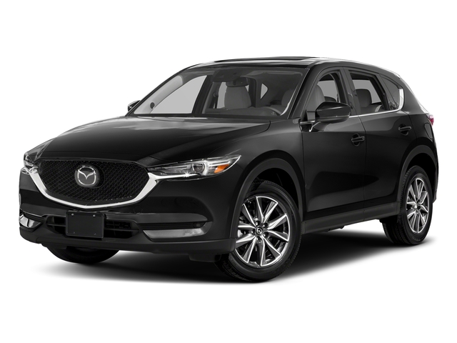 Jet Black Mica 2017 Mazda CX-5 Pictures CX-5 Utility 4D GT 2WD I4 photos front view