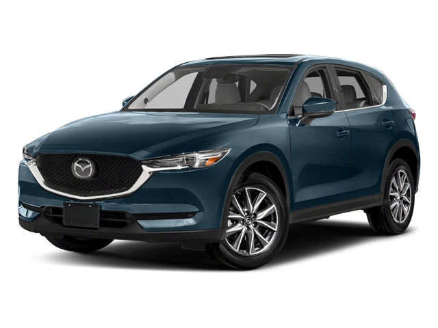 Deep Crystal Blue Mica 2017 Mazda CX-5 Pictures CX-5 Utility 4D GT 2WD I4 photos front view
