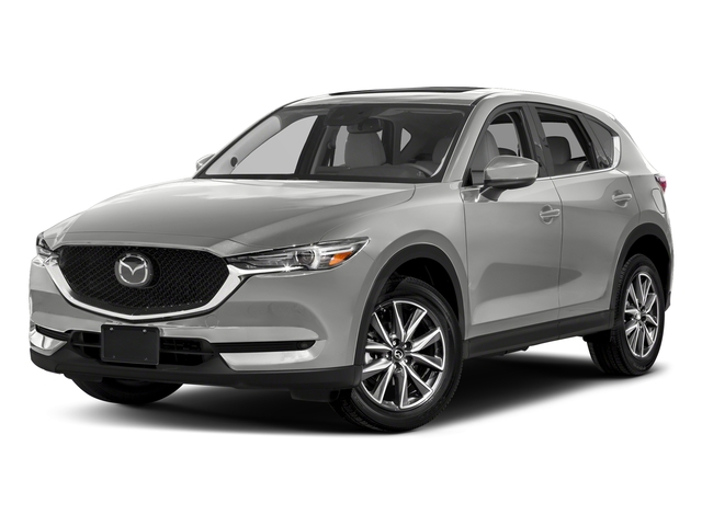 Sonic Silver Metallic 2017 Mazda CX-5 Pictures CX-5 Utility 4D GT 2WD I4 photos front view