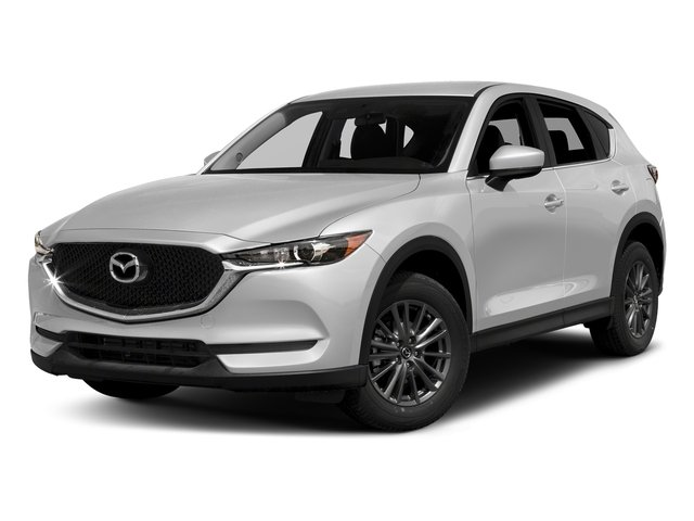 Snowflake White Pearl Mica 2017 Mazda CX-5 Pictures CX-5 Touring AWD photos front view