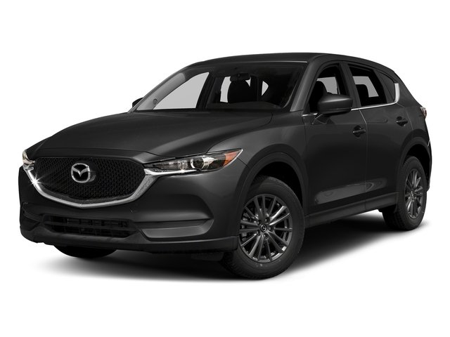 Jet Black Mica 2017 Mazda CX-5 Pictures CX-5 Utility 4D Touring AWD I4 photos front view