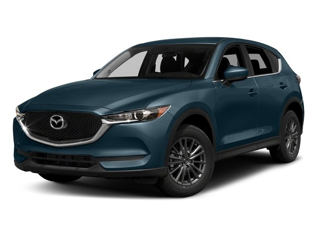 Deep Crystal Blue Mica 2017 Mazda CX-5 Pictures CX-5 Utility 4D Touring AWD I4 photos front view