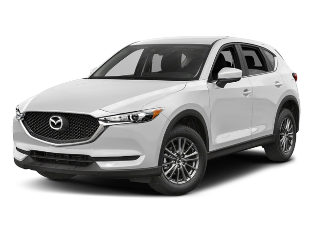 Snowflake White Pearl Mica 2017 Mazda CX-5 Pictures CX-5 Utility 4D Sport AWD I4 photos front view